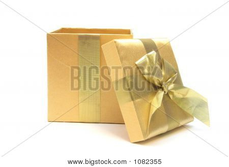 Open Gold Gift