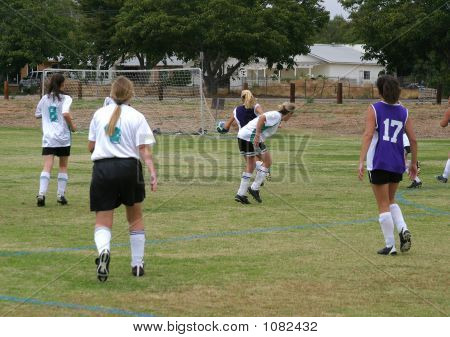 Going For A Goal