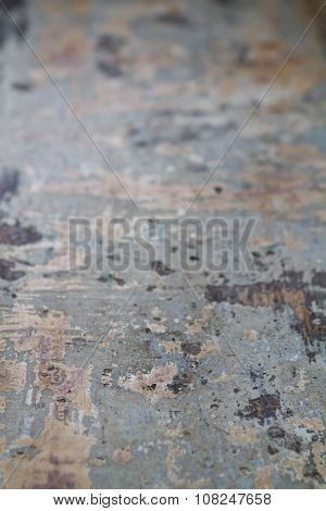 Shallow Focus Textured Grungy Tabletop Food Background