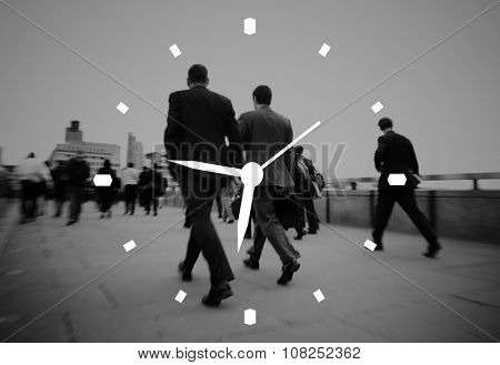 Watch Clockwise Timer Hour Period Concept