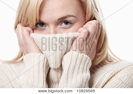 A Girl In A Sweater