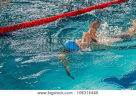Athletic Swimmer In Action 4