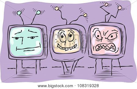 Three Funny Television