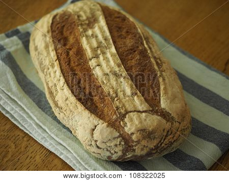 Rustic Loaf of Bread