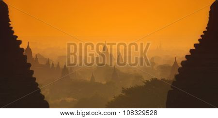 Sunrise in Myanmar