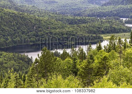 Parc Maurice view of a lake, Kanada