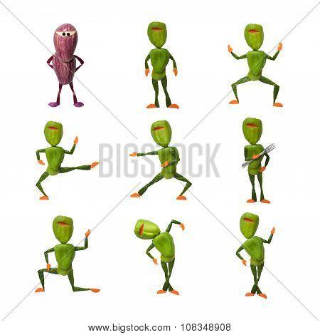 Compilation Of Vegetable Ninjas