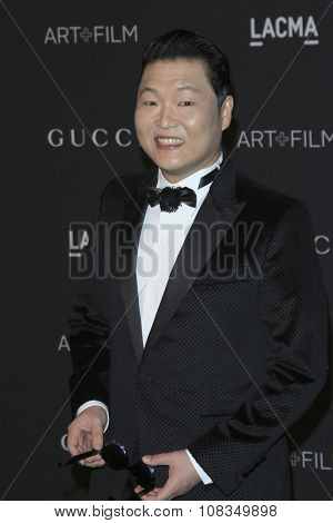 LOS ANGELES - NOV 7:  Psy at the LACMA Art + Film Gala at the  LACMA on November 7, 2015 in Los Angeles, CA