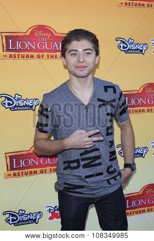LOS ANGELES - NOV 14:  Ryan Ochoa at the