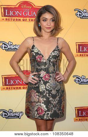 LOS ANGELES - NOV 14:  Sarah Hyland at the