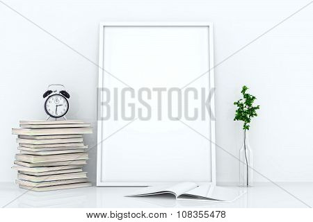 Blank Frames Against The Wall
