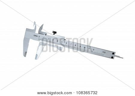 Metal Caliper Isolated