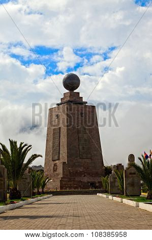 Center Of The World, Mitad Del Mundo, Front View
