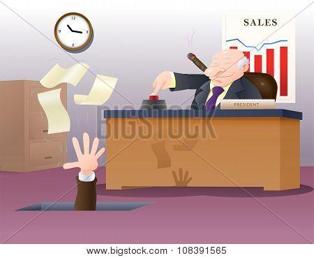 Boss Fired His Employee