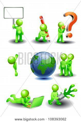 Variety Green Man Concept