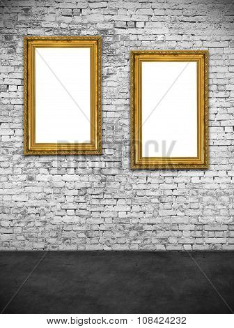 Two Hollow Frames