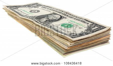 Stack Of Dollars Banknotes_1