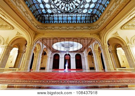 Romania's Palace Of Parliament