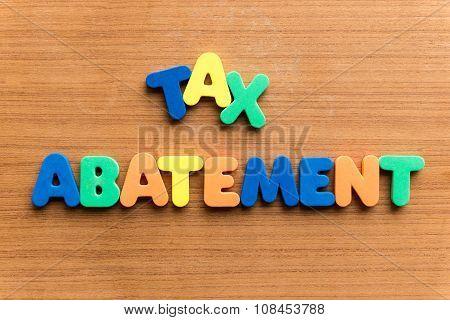 Tax Abatement