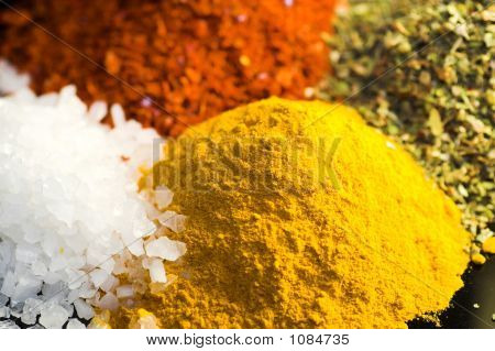 Looking Down On Spices