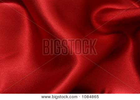 Red Satin Background 1