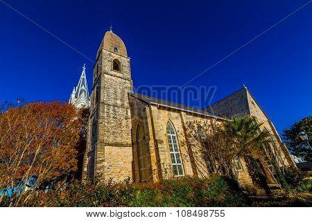 Historic St. Mary's Catholic Church in Fredricksburg, TX., established 1846