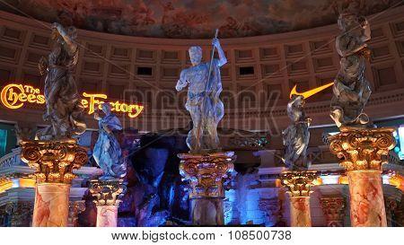 Fall of Atlantis show at Forum Shops in Las Vegas