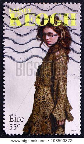 Postage Stamp Ireland 2010 Lainey Keogh, Irish Fashion Designer