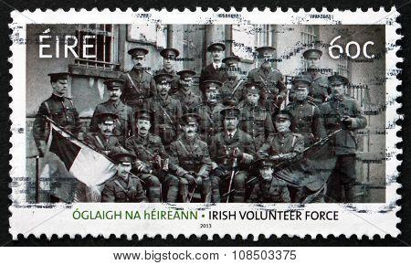 Postage Stamp Ireland 2013 Soldiers