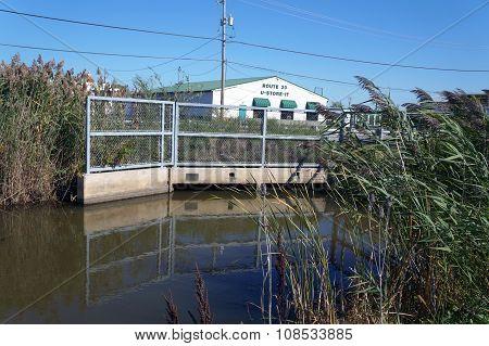 Low Bridge over the Rock Run Creek