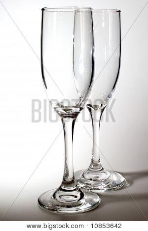 Two Empty Glasses