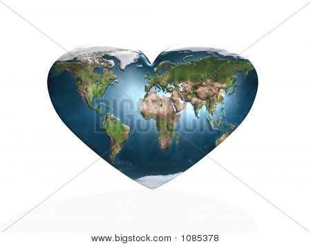 love in planet earth (see more in my portfolio) poster