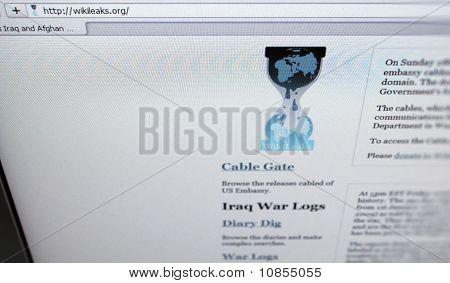 Website Of Wikileaks.com