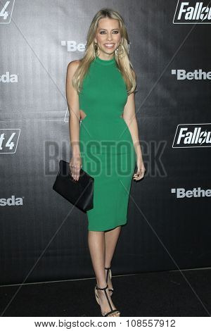 LOS ANGELES - NOV 05:  Lindsay McCormick at the Fallout 4 video game launch  at the downtown on November 05, 2015 in Los Angeles, CA