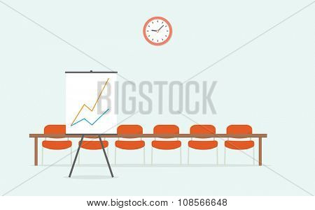 Room for presentations