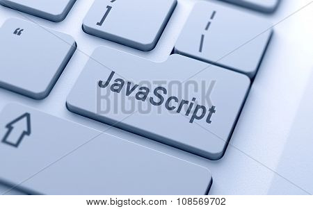 Javascript Word Button On Computer Keyboard