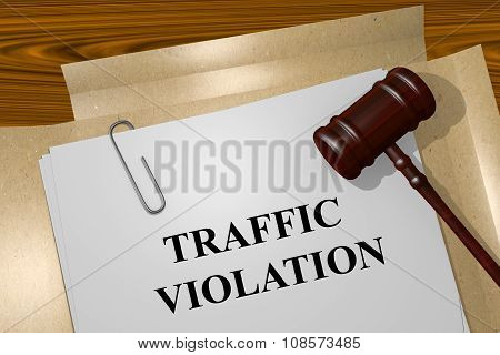 Traffic Violation Concept