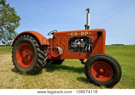 Old Co-op tractor