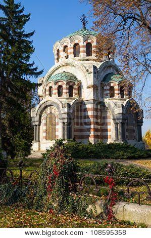 The Chapel-mausoleum, Pleven, Bulgaria