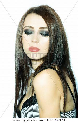 Sexy Woman In Bra