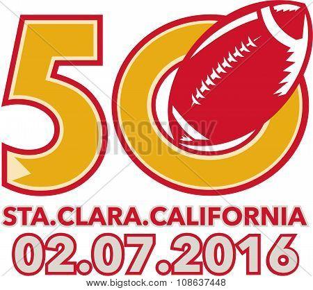 50 Pro Football Championship Santa Clara