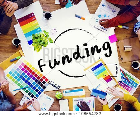 Funding Finance Fund Raising Global Business Invest Concept