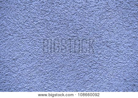 Blue Revetment Wall Putty Macro Texture Background