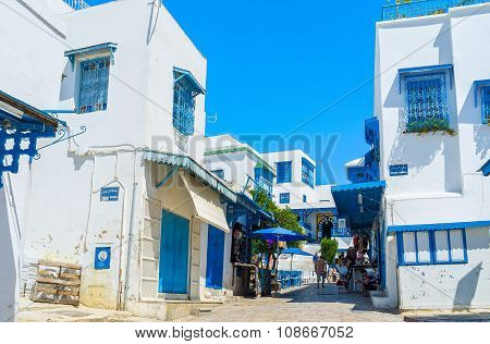 Walking In Sidi Bou Said