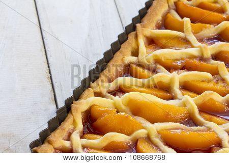 Melba Shortcake in Pie Dish