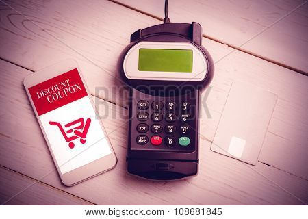 Mobile payment against sale advertisement