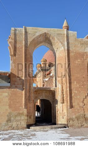 Entrance To Ancient Ishak Pasha Palace