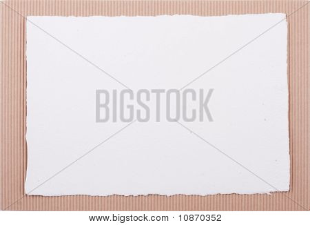 Colored Cardboard Background