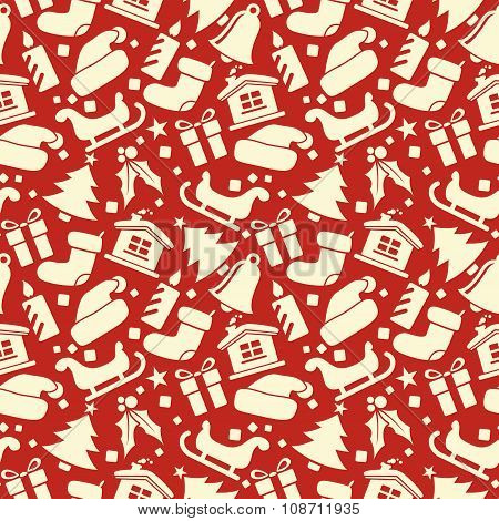 Christmas Seamless Vector Pattern 18