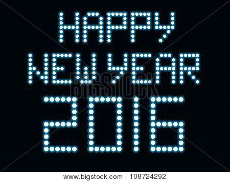 Led light new year 2016